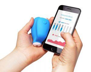 KGOAL – אלקטרודה משולבת אפליקציה לתרגול שרירי ריצפת האגן